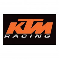 Logo of KTM Racing with Stripe