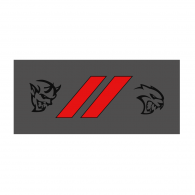 Logo of SRT Dodge Demon and Hellcat